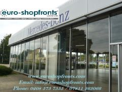 Full Glass Shop Fronts London
