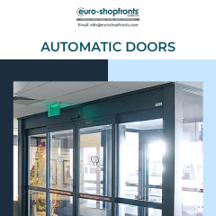 Why Choose Automatic Door System In London