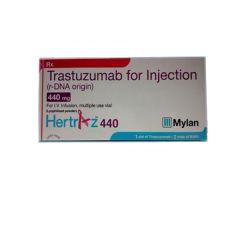 Buy Hertraz Trastuzumab 440mg Injection at reasonable p