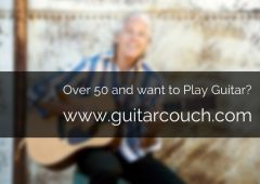 Are You Over 50 and Want to Learn the Guitar