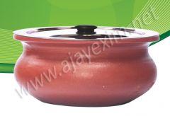 Clay Biryani Pot with Lid