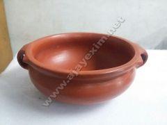 Clay Casserole Bowl