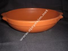 Clay Deep Frying Pan