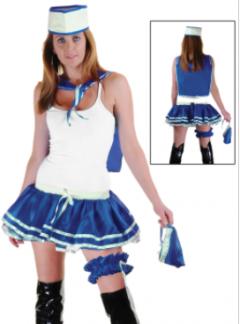 Blue 4 Pcs Sailor Kit