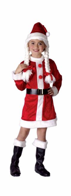 Santas Helper Outfit Girl