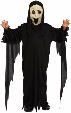 Children Demon Ghost Costume