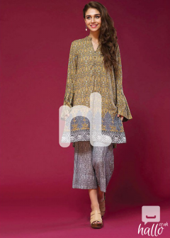 Printed Modal Shirt with Printed Modal Trouser