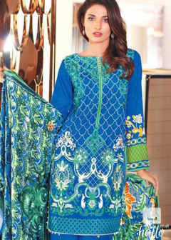 Embroidered Linen Front
