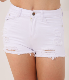 Women White Shorts