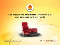 Specialized Pallets, Crates and Containers For Beverage