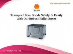 Buy Robust Pallet Boxes For Storage & Transportation