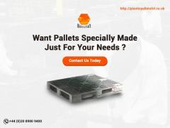 Get Your Customized Pallets At Beecraft UK Ltd