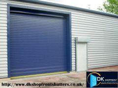 Solid Roller Shutters London - DKShopfronts,UK