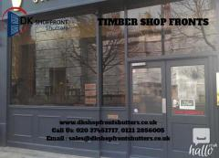 Timber Shopfronts London
