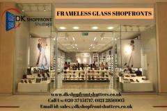 Frameless Glass For Shop Front