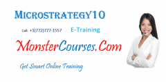 Microstrategy Online Training, Monstercourses