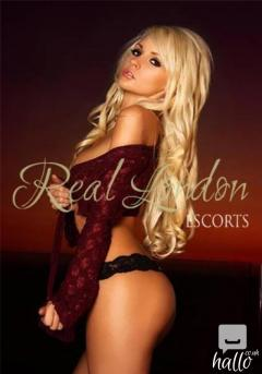 This gorgeous young blonde escort is model material