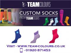 Custom Socks At Team Colours