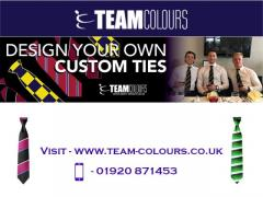 Design your own Custom Ties At Team Colours