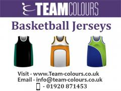 Basketball Jerseys From Team Colours