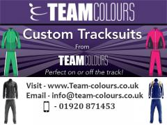 Design Your Own Tracksuits From Team Colours