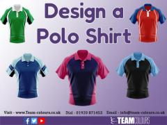 Design a Polo Shirt From Team Colours