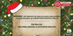 Borrow Loan and Savour Christmas