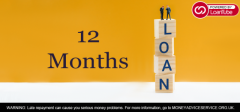 12 Month Loans - Unsecured Loans - Oyster Loan