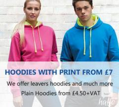 Get  Wide Range Of Personalised Hoodies In Londo