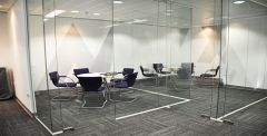 Glass Office partition and walls London