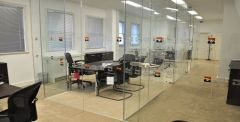Office and Glass Partitions specialists London