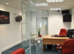 MONOWA silent Mobile partition wall by INTEK