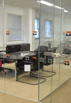 Glass Office Partitions Benefit Employee Health