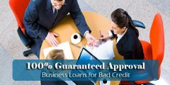 Bad Credit Business Loans on Guranteed Approval