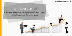 Small Business Loans for UK People with Bad Credit