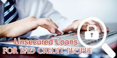 Unsecured Loans for Bad Credit-Online Instant Decision