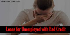 Loans for the Unemployed with Bad Credit UK