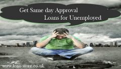Long Term Loans for Unemployed on Same Day Approval