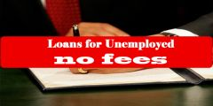 Grab the Chance of Getting Loans for Unemployed No Fees