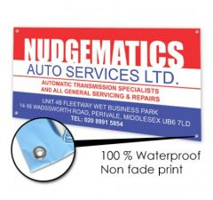 PVC Banner Printing Services in London
