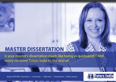 Masters Dissertation Writing Services in UK