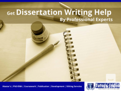 Get Dissertation Writing Help By Professional Experts