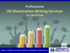 Profess. UK Dissertation Writing Services at Low Prices