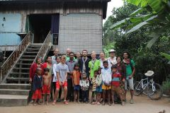 Homestay with the local host family, Cambodia
