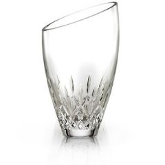 Waterford Crystal Lismore Essence Angled Round Vase