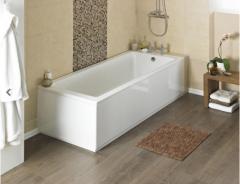 Shop Linton 1700 x 750mm Single Ended Acrylic Bath