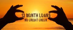 12 Month Loans No Credit Check In The UK