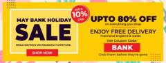 May Bank Holiday Sale 2019 in UK  Furniture Direct UK