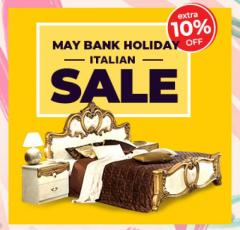 May Bank Holiday Sale For Italian Furniture in UK  FDU