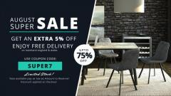 August Super Sale in UK  Furniture Direct UK